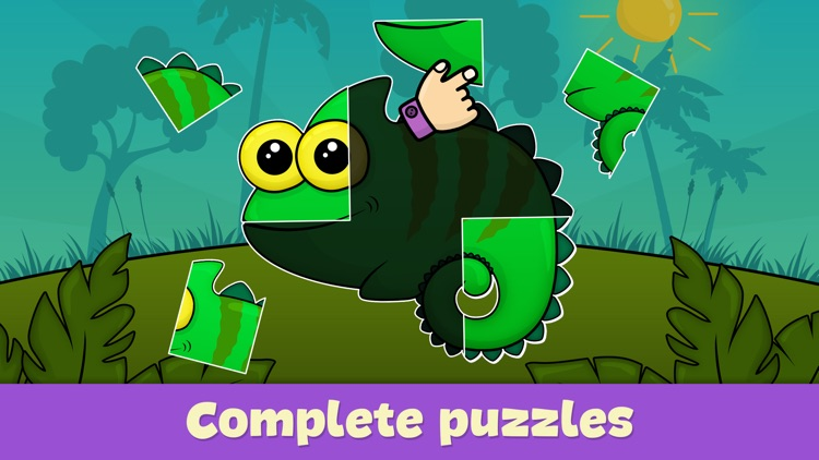 Toddler puzzle games for kids screenshot-3
