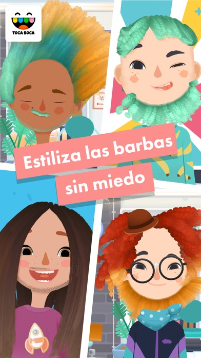 Screenshot for Toca Hair Salon 3 in Peru App Store