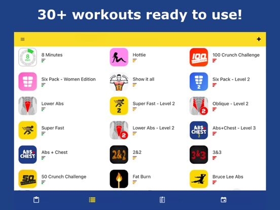 Abs Workout - Daily Fitness iPad app afbeelding 6