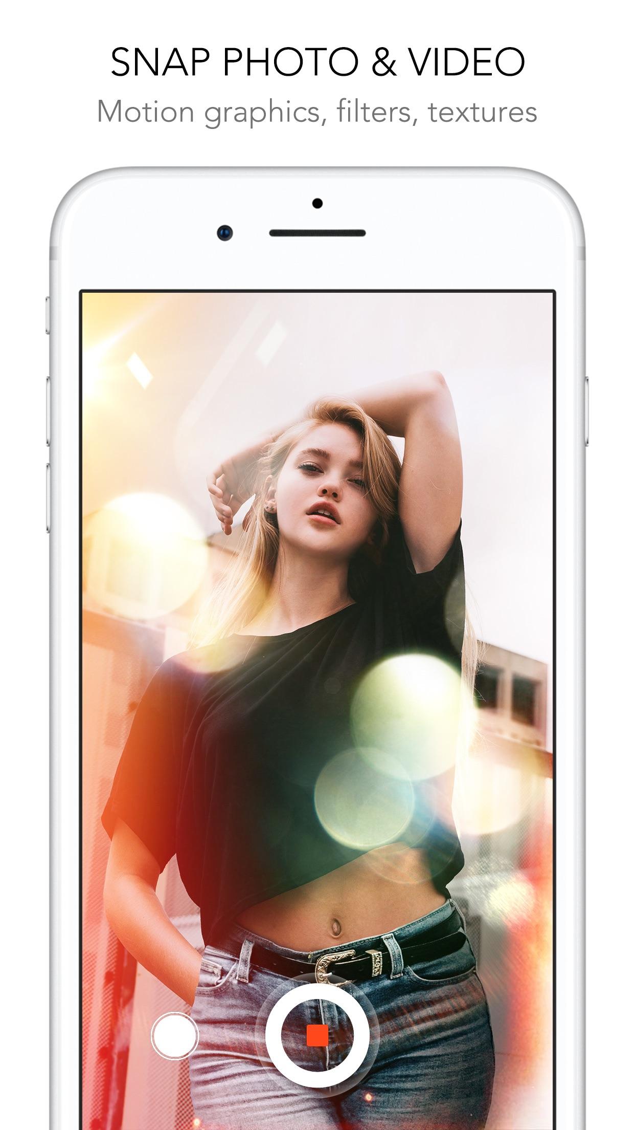 Rookie Cam - Photo Editor Screenshot