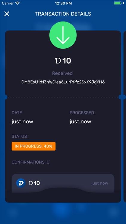 DigiByte screenshot-4