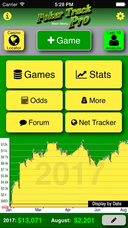 Poker Track Pro – Game Tracker screenshot-0