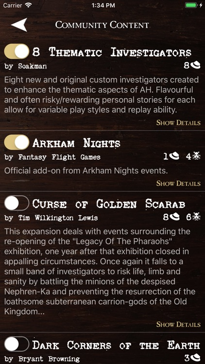 Assistant for Arkham Horror screenshot-7