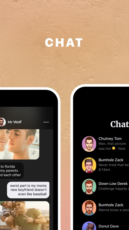 Gays dating app - CHAT & DATE