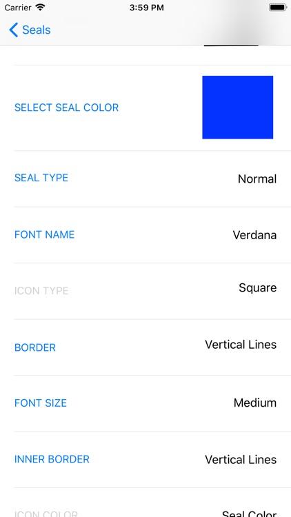 Company Seals screenshot-3