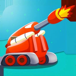 Cannon Shooter 3D Spinny Shot