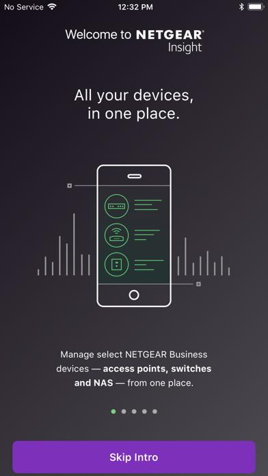 NETGEAR Insight screenshot one