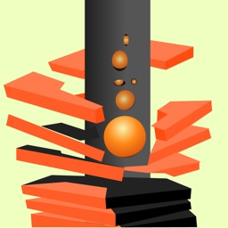 Spinny Stack vs Ball 3D