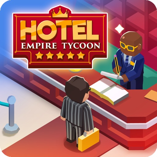 Hotel Empire Tycoon-Idle Game icon