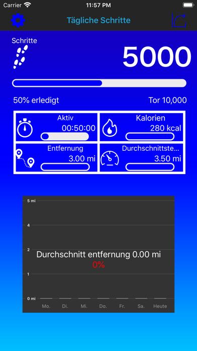 Pedometer Daily Steps CounterScreenshot von 3