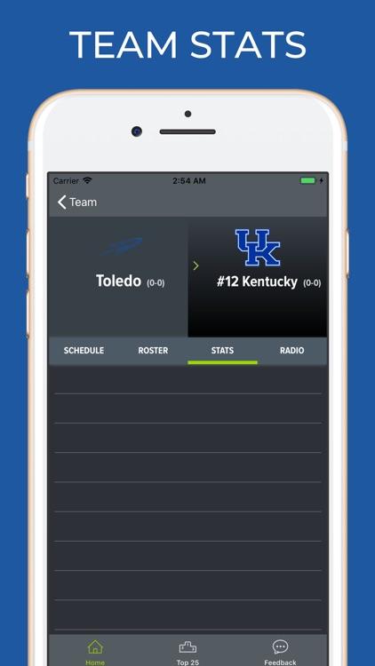 Kentucky Football Schedules screenshot-3