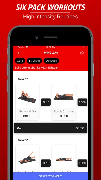 Six Pack Abs Workout Challenge screenshot-0