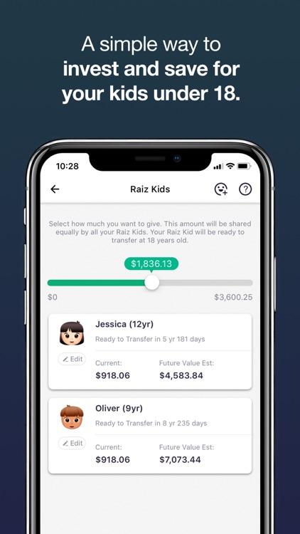 Raiz - Invest The Spare Change screenshot-6