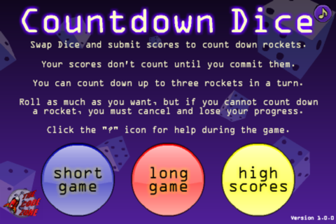 Countdown Dice - náhled