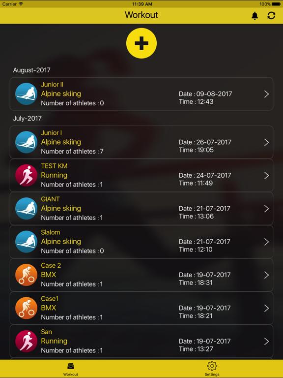 MyFreelap screenshot