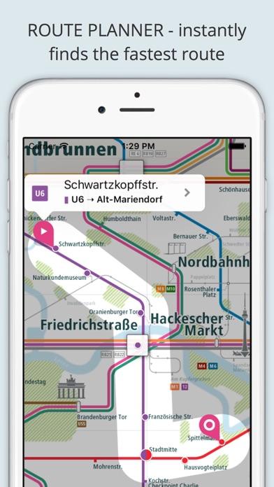 City Rail Map - Travel Offline Screenshot