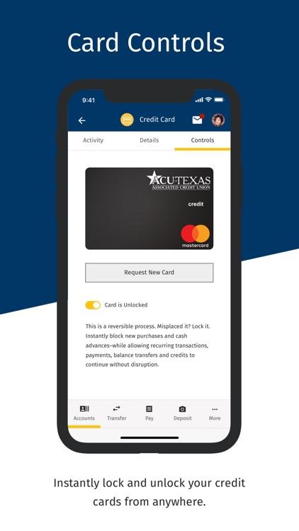 ACU of Texas Mobile Banking screenshot-4