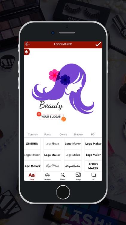 Beauty Salon Logo Maker screenshot-8