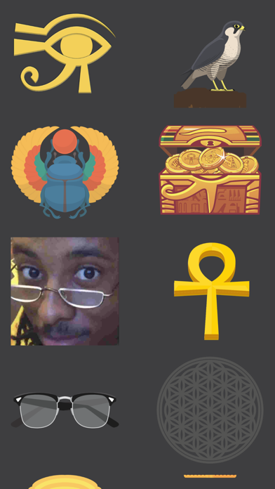 Young Pharaoh Emoji Pack! screenshot #3