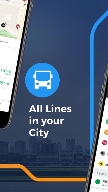 Moovit: All Transit Options screenshot-3