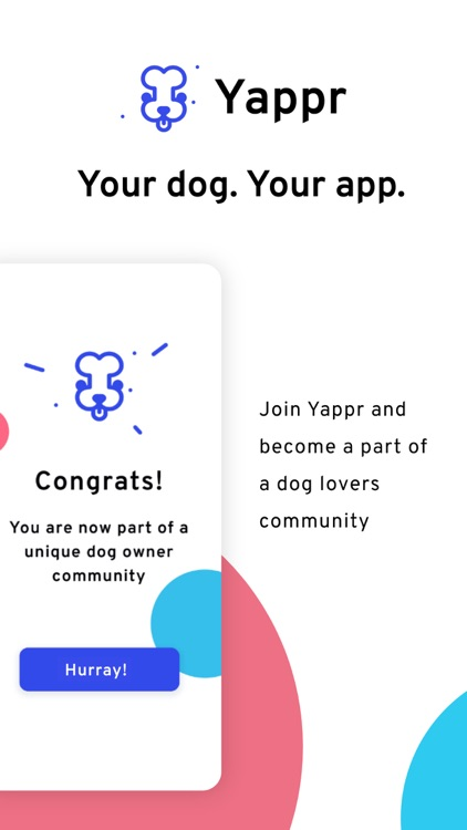 Yappr - Your dog. Your app.