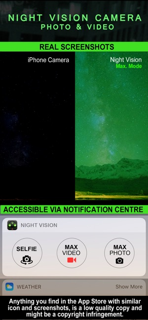 Night Vision Photo Video On The App Store