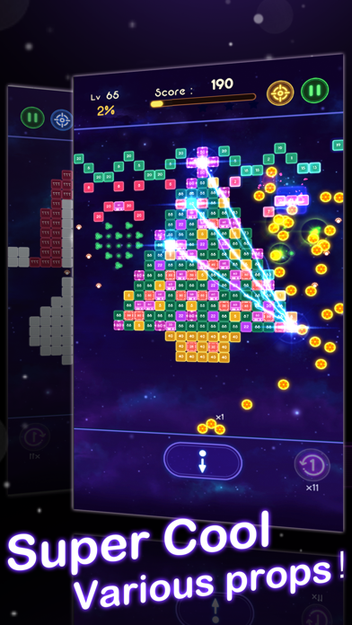 Crystal Blast - Brick Balls screenshot 2