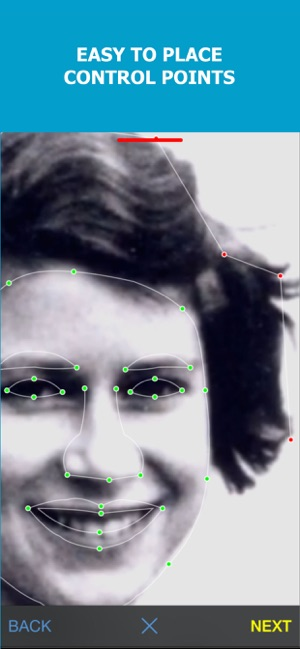 MORPH - Face Aging App Screenshot