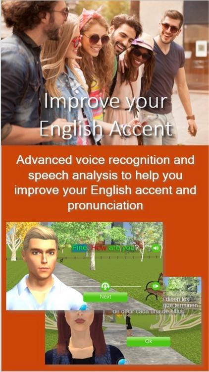 Learn English in FluentWorlds screenshot-3