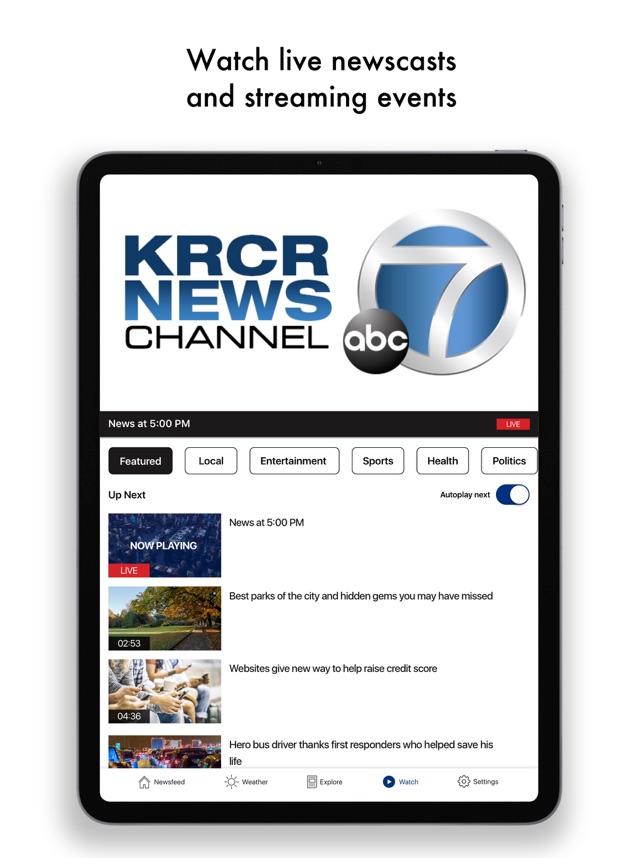 krcr weather app