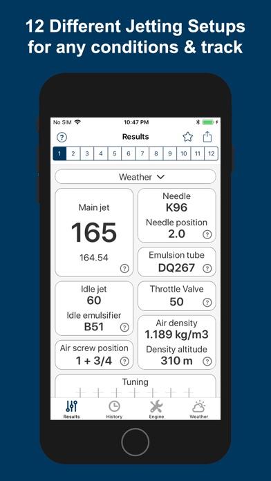 Jetting IAME KZ1 / KZ2 Kart ScreenShot0