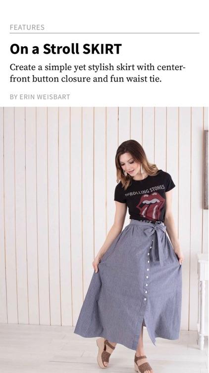 Sew News Magazine screenshot-4