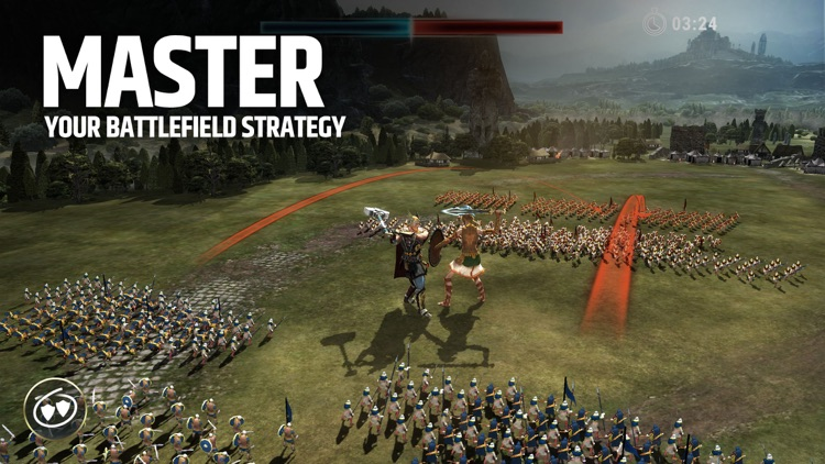 Dawn of Titans: War Strategy screenshot-0
