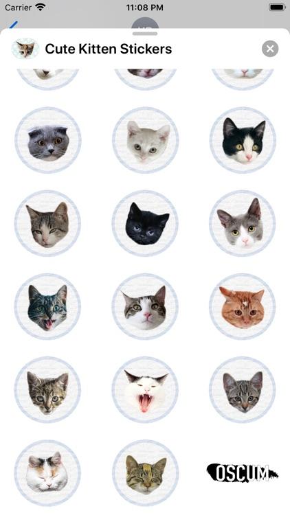 Cute Kitten - Stickers screenshot-3