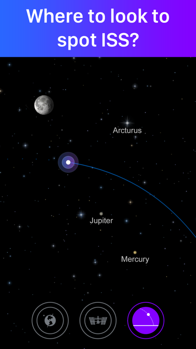 Satellite Tracker by Star Walk Screenshot