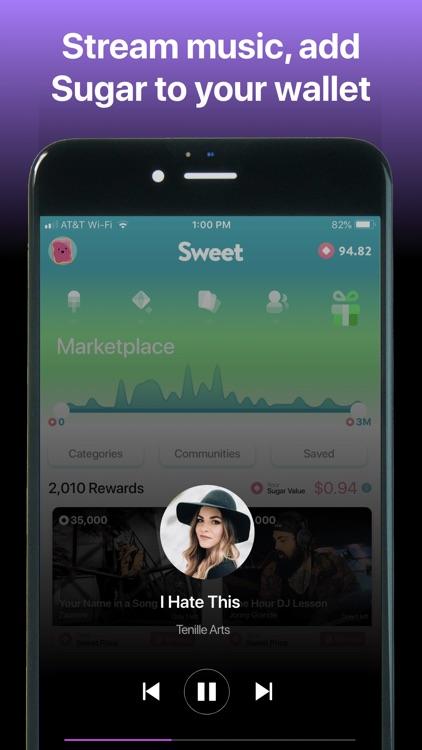 Sweet - Rewards, Music, Games screenshot-4