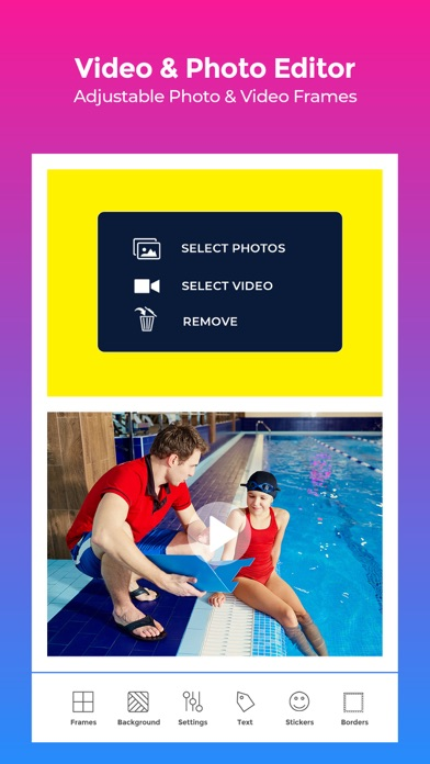 VideoFrame - Video Collage App screenshot three