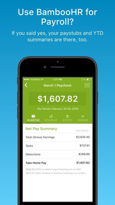 BambooHR - Revenue & Download estimates - Apple App Store - US