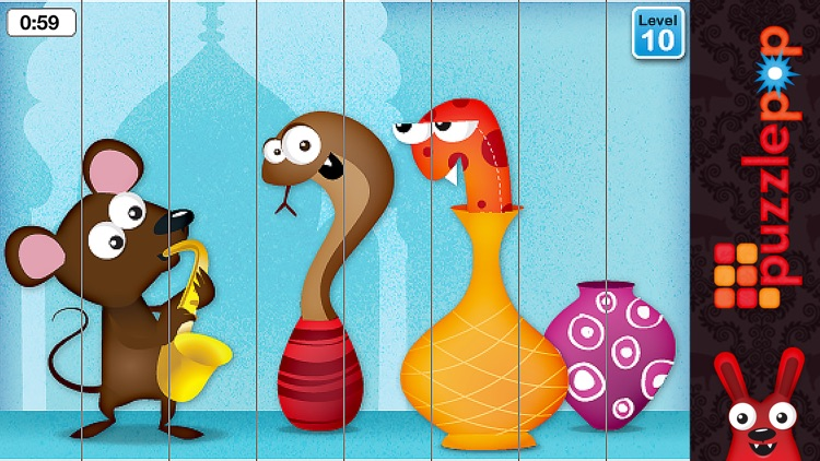 Puzzle Pop - Duck Duck Moose