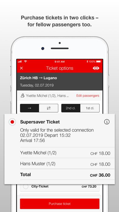 SBB Mobile screenshot four