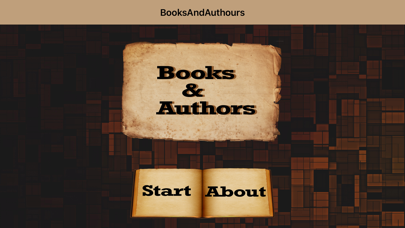 BooksAndAuthorsQuiz Screenshot