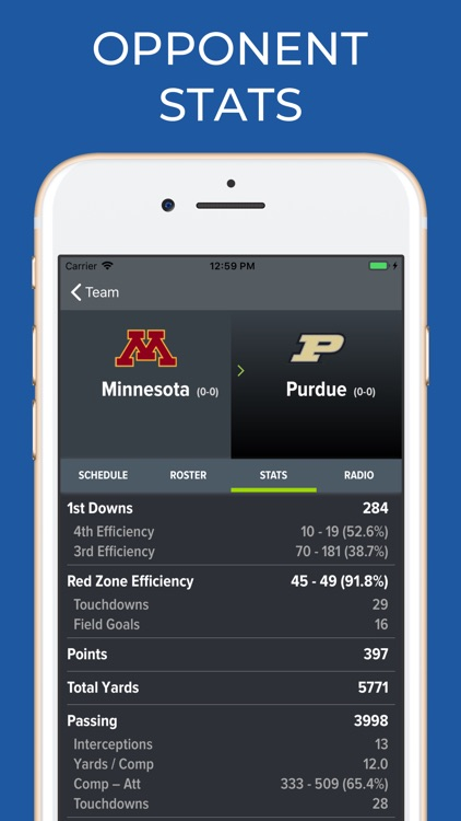 Minnesota Football Schedules screenshot-8