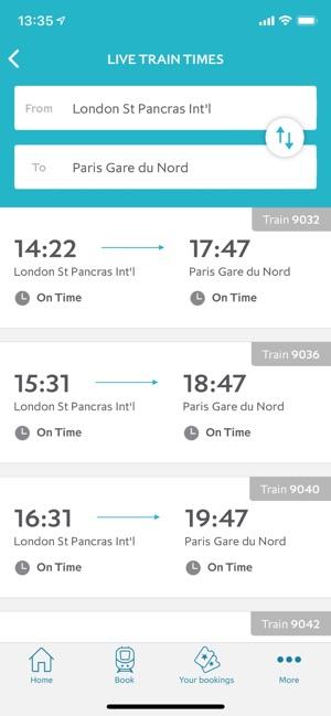 Eurostar Trains on the App Store