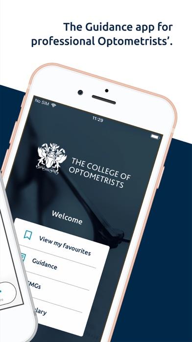 College of Optometrists screenshot two