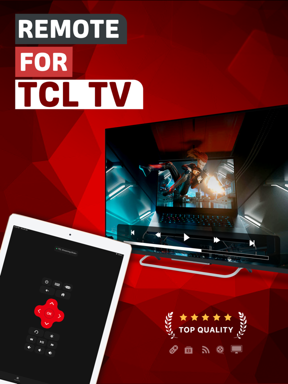 TCL TV Remote | App Price Drops