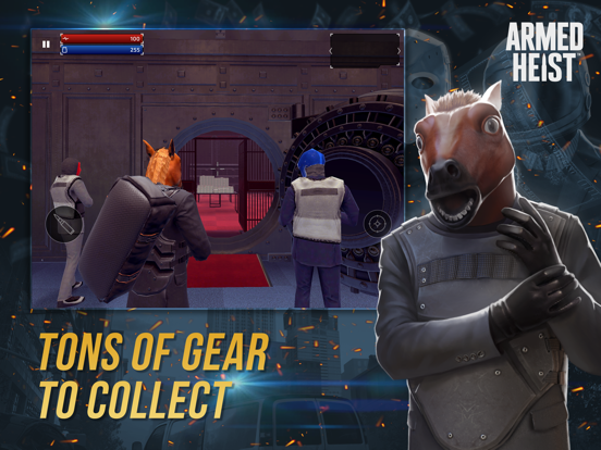 Armed Heist: TPS Shooting Game screenshot