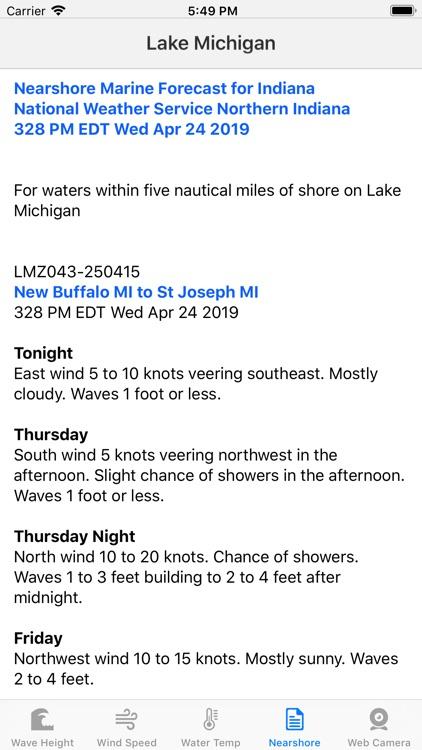 Great Lakes - Forecast screenshot-3