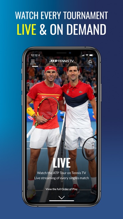 Tennis TV - Live Streaming screenshot-0