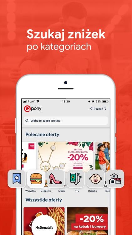 Qpony Promocje Kupony Zniżki screenshot-3