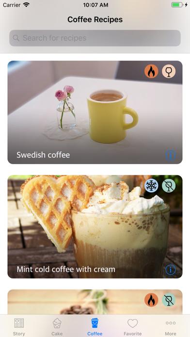 点击获取Coffee Space - Recipes